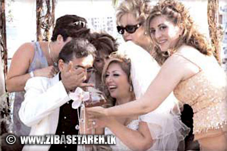 Leila Forouhar wedding photos